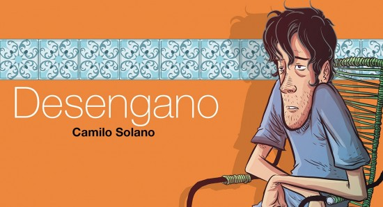 Capa da HQ Desengano, de Camilo Solano
