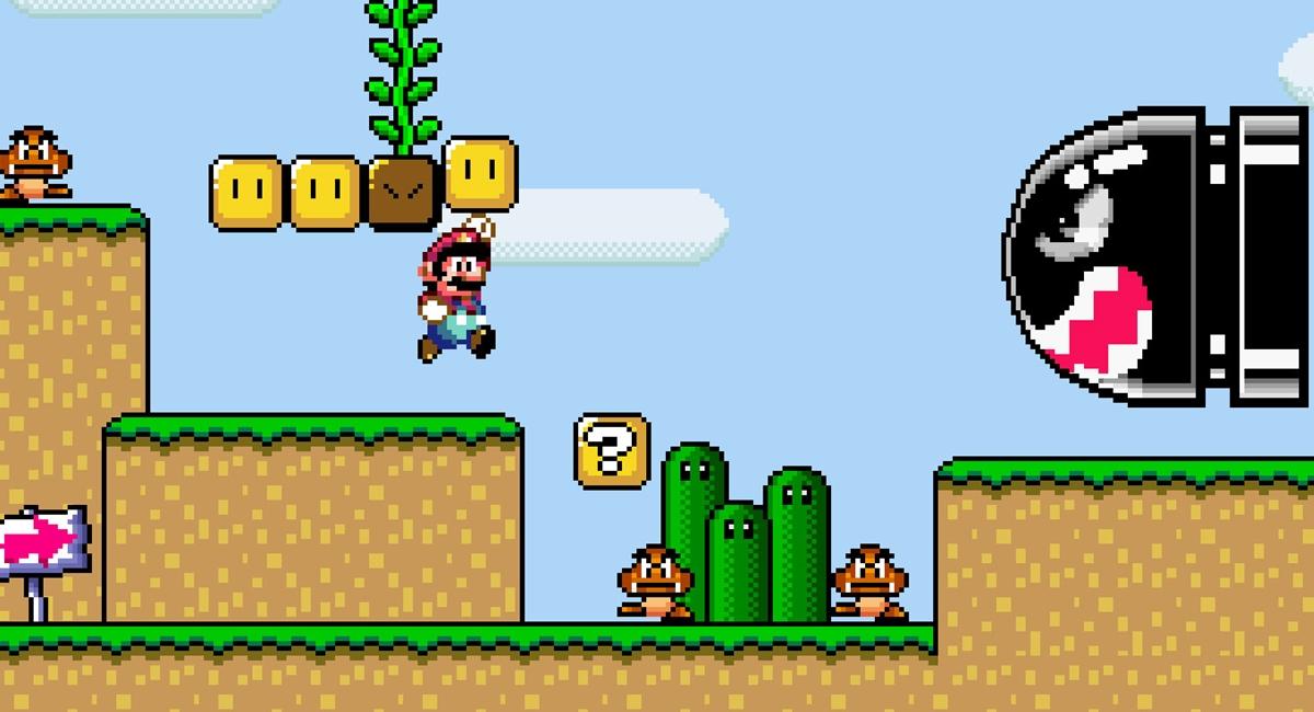 Super Mario World, videogames antigos