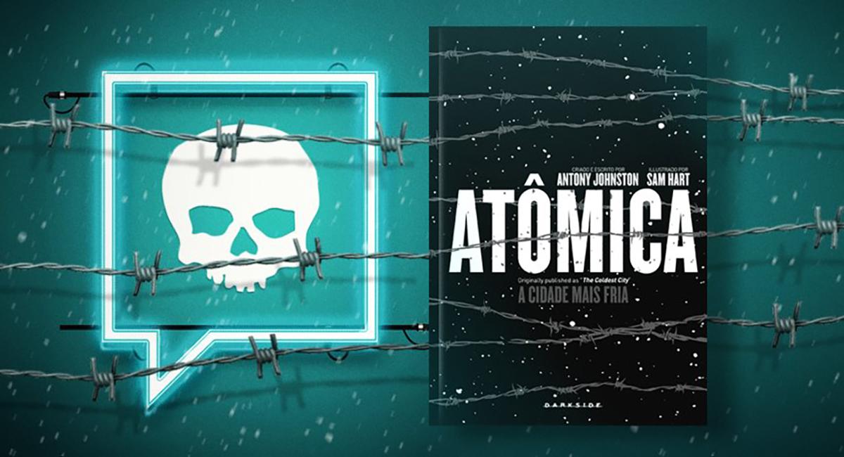 A HQ que foi base para o filme 'Atômica' será lançada pela Darkside books