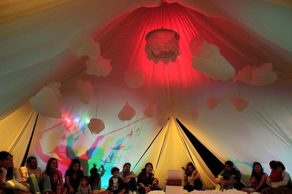 Espetáculo VOA (Foto: Maíra Zannon)