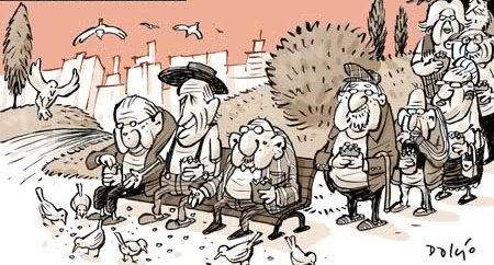 Charge: pt.linkedin.com/pulse/envelhecimento-populacional-cuidado-e-cidadania-velhos-marques