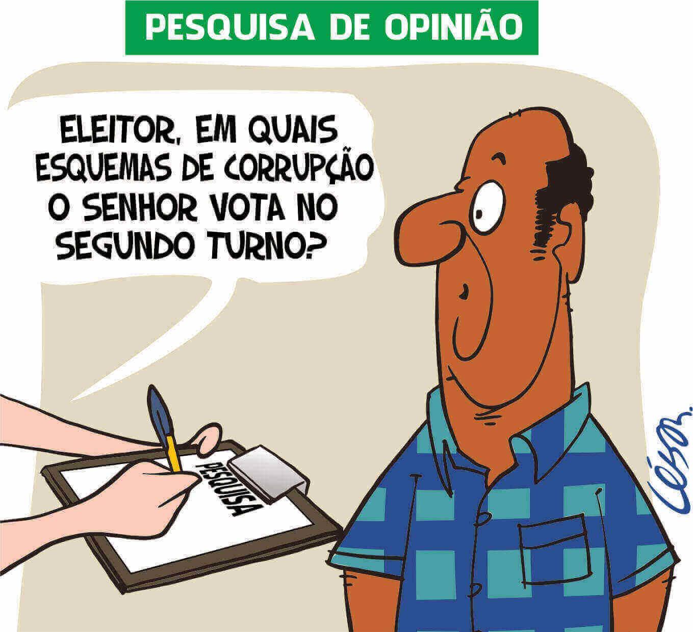 Charge: César (tribunadainternet.com.br)