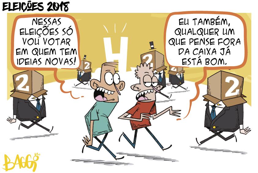 Charge: Jornal de Brasília