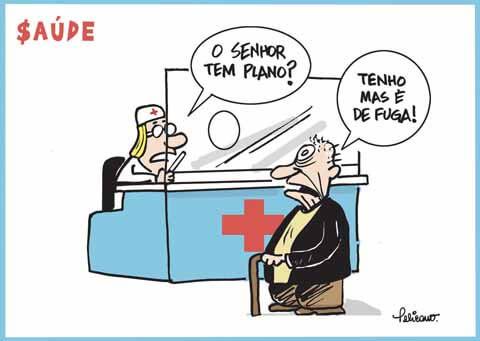 Charge do Feliciano (vigilanciasaudefanor.blogspot.com)