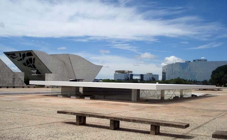 Casa de Chá de Brasília, na Praça dos Três Poderes