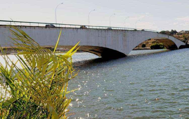 Ponte Honestino Guimarães, foto atual