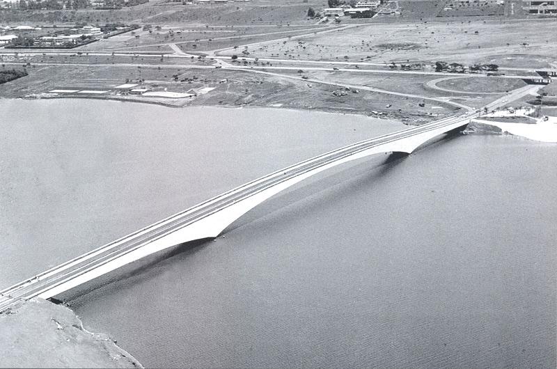 Ponte Costa e Silva. Foto de arquivo do Correio Braziliense
