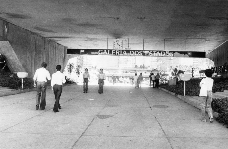 Galeria dos Estados, julho de 1978. Foto de Lourdes Calvo/CB/D.A Press