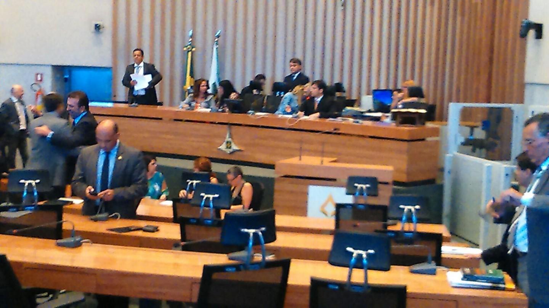 Câmara Legislativa - CLDF - votação da previdência