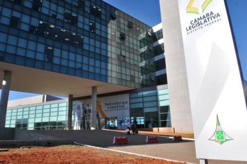 Câmara Legislativa fachada do prédio - concurso
