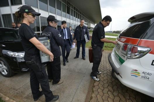 Operação Delfos no Buriti - acusados de extorquir SindiSaúde