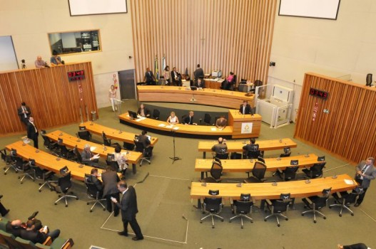 distritais no plenário câmara Legislativa
