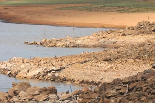 #Seca no DF: barragem atinge mínimo histórico / crise hídrica