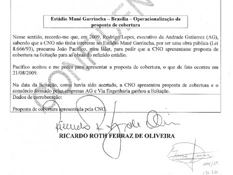Mané Garrincha - delação
