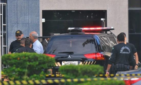 Arruda preso operação Panatenaico - ex-governador alega inocência