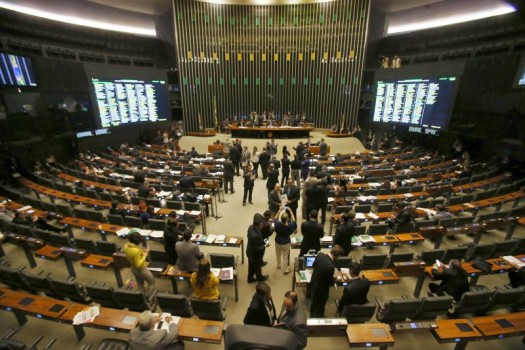 Plenário da Câmara dos Deputados - emendas deputados DF