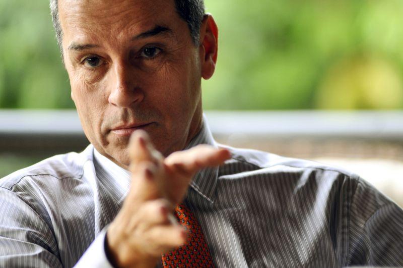14/10/2010. Crédito: Daniel Ferreira/CB/D.A Press. Brasil. Brasília - DF. Empresário Luiz Estevão durante entrevista ao Correio Braziliense.
