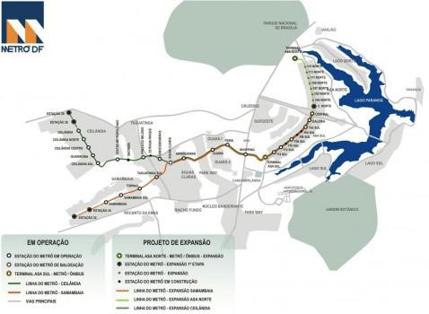 Expansão do metrô de Samambaia