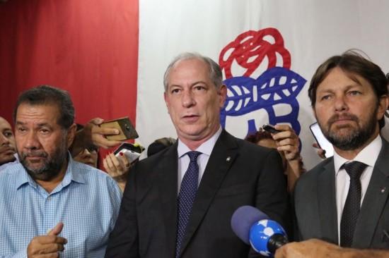 Ciro Gomes, Lupi e Joe Valle