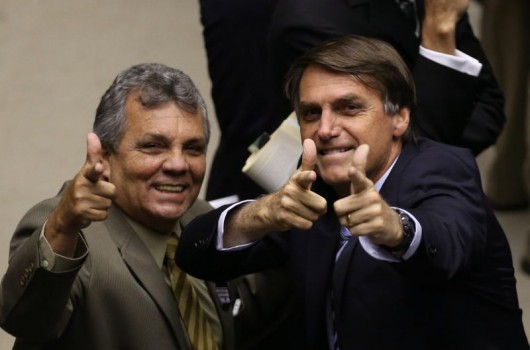 Alberto Fraga e Bolsonaro