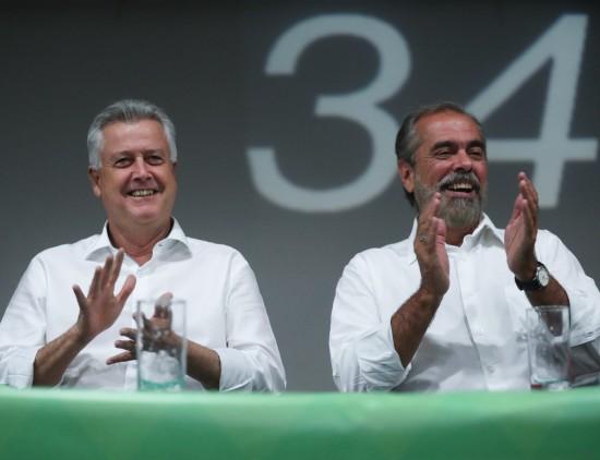 Rollemberg e Eduardo Brandão vice