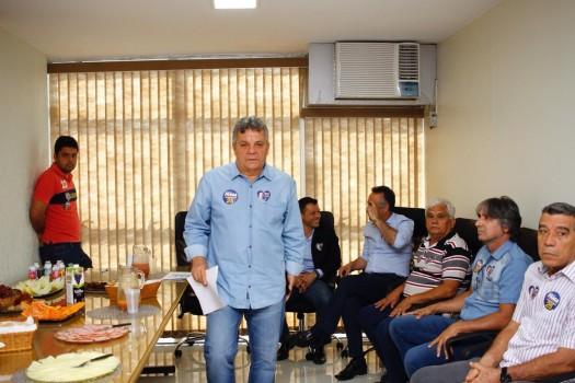 Alberto Fraga e auditores tributários