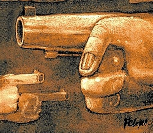 Ibaneis arma desarmamento