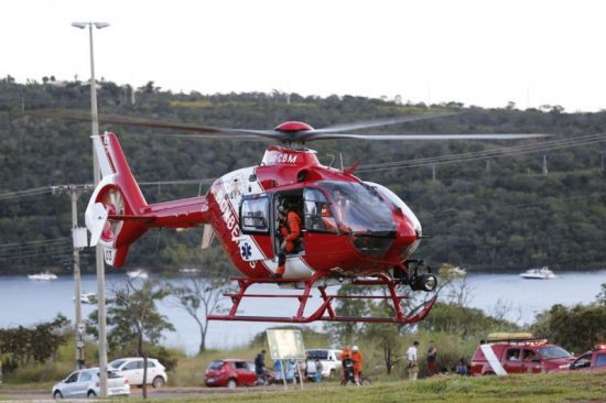 Deficit helicóptero corpo dos bombeiros