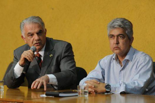 Ex-secretários de saúde Elias Miziara e Rafael Barbosa
