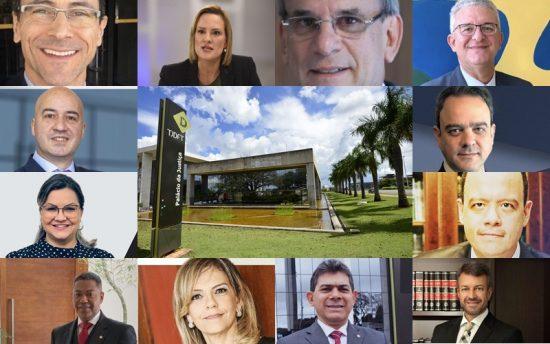 Candidatos da OAB-DF para a vaga de desembargador do Tribunal de Justiça do DF