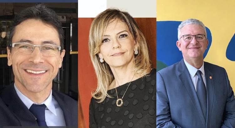 Lista tríplice da OAB Robson Vieira Teixeira de Freitas, Ana Paula Pereira Meneses e Eduardo Lowenhaupt da Cunha