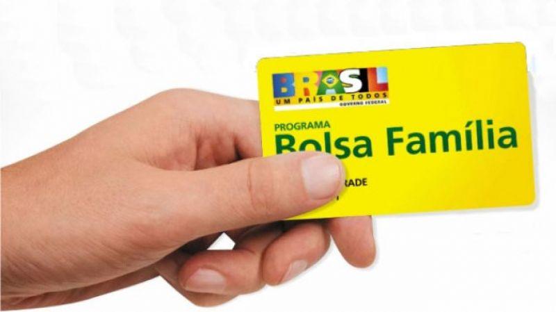 Cartão Bolsa Família.