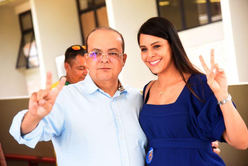 Ibaneis Rocha e Mayara Noronha