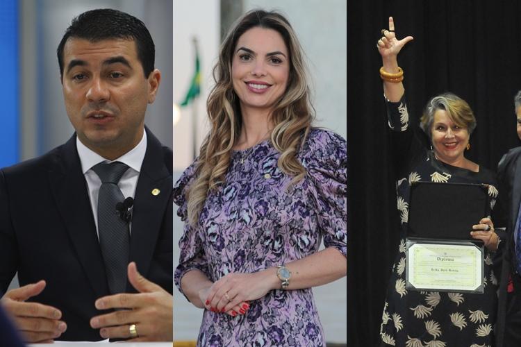 Luis Miranda Paula Belmonte Erika Kokay