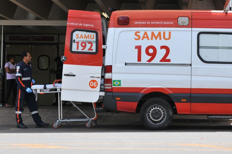 Ambulância do Samu