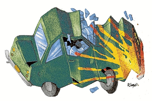 Acidentes de trânsito no DF