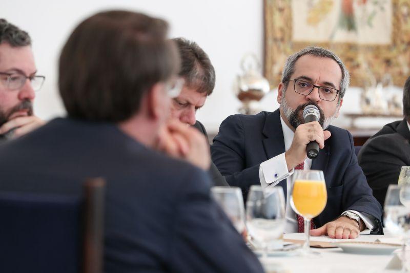 reunião ministerial Bolsonaro e Abraham Weintraub