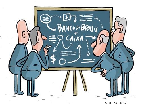 Corrupções na Caixa e no Banco do Brasil