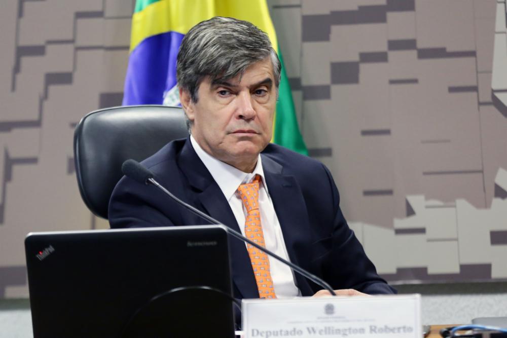 O líder Wellington Roberto centrão
