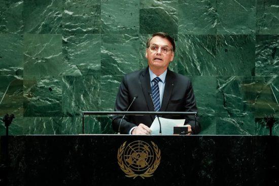 Bolsonaro na 74ª Sessão da Assembleia Geral das Nações Unidas