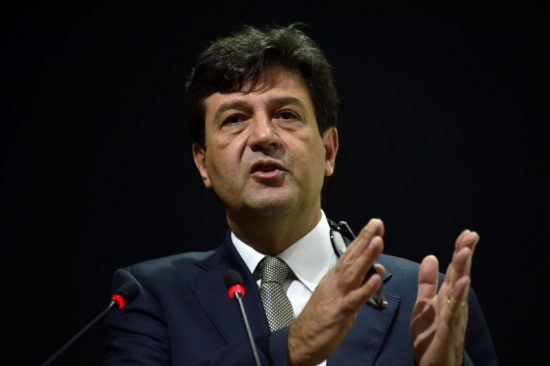 Ministro da Saude Luiz Henrique Mandetta.