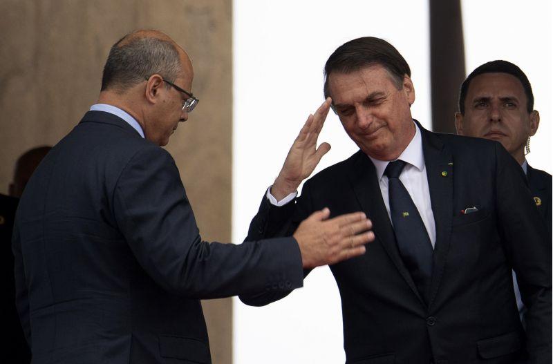 Wilson Witzel e Bolsonaro