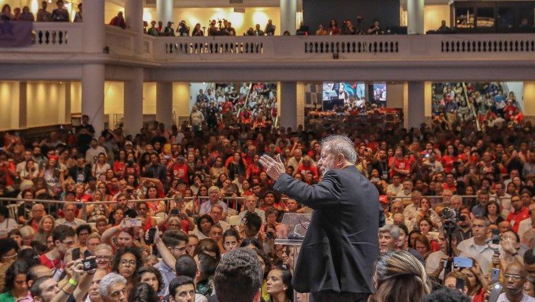 Lula discursa no Congresso Nacional do PT