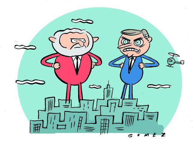 Pesquisa Bolsonaro e Lula