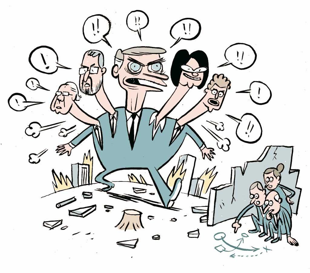 Bolsonaro e ministros
