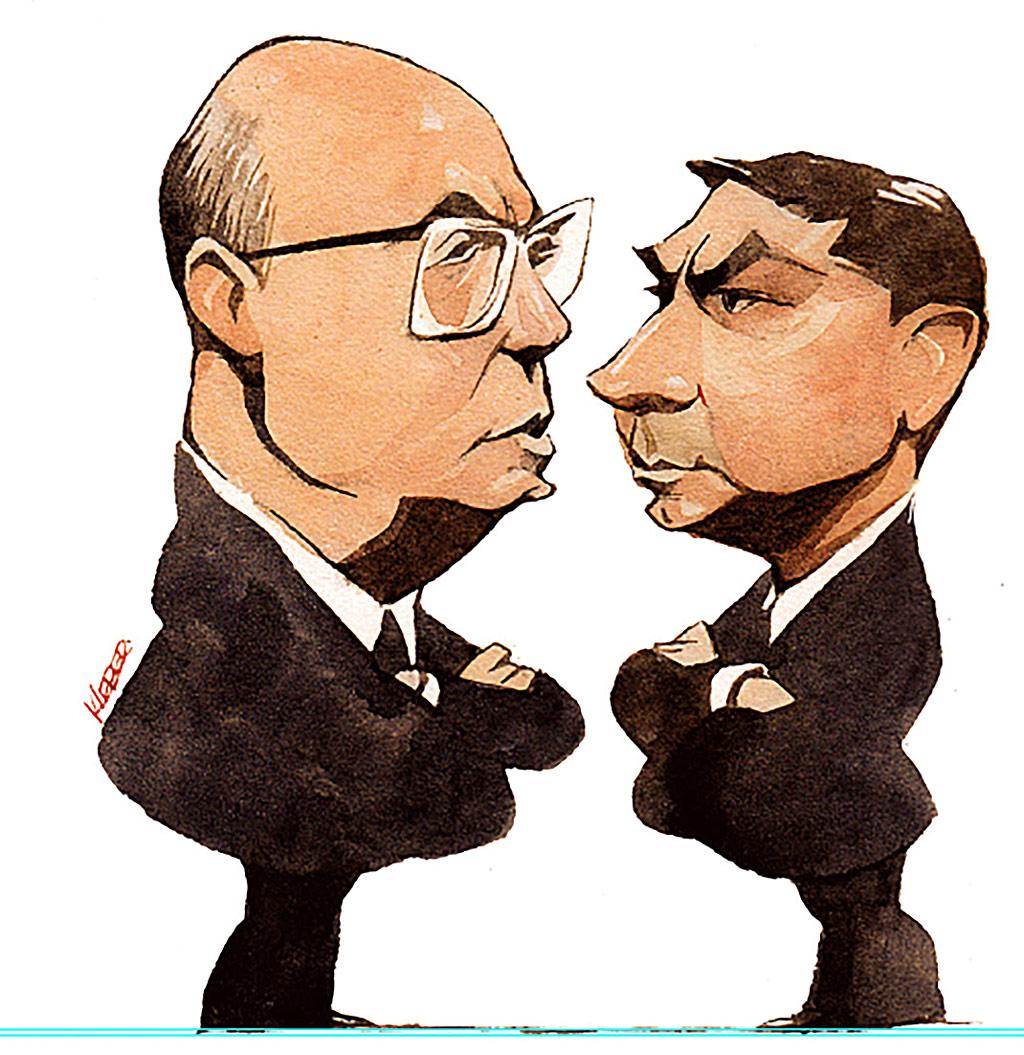Wilson Witzel e Flávio Bolsonaro são alvos da PF