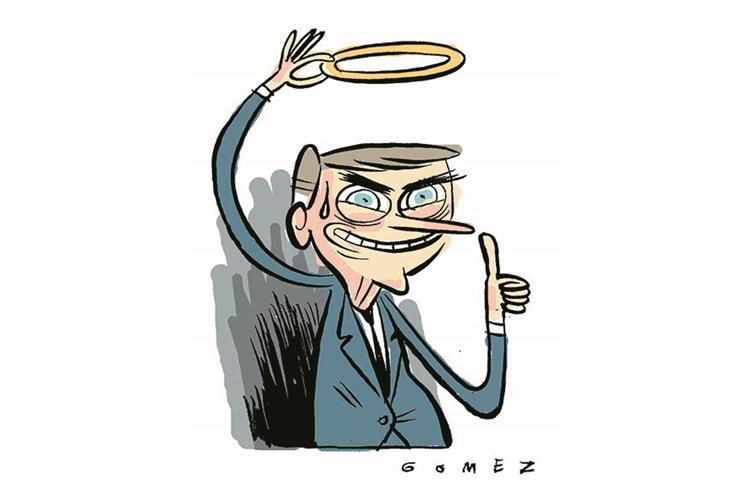 Bolsonaro com áurea de santo