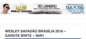 Show no mesmo dia de Brasília x Atlético Taguatinga