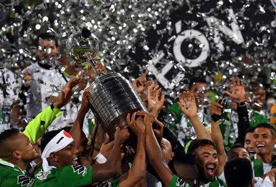 Atlético Nacinal: campeão da Libertadores e finalista da Sul-AmericanaFoto: Divulgação/Conmebol
