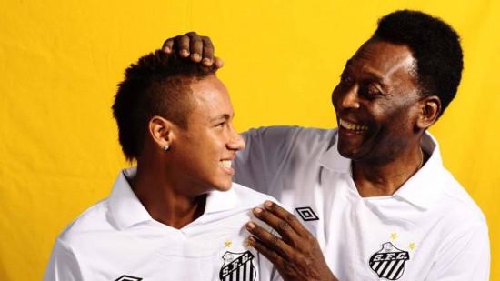 Neymar E Pelé Aos 25 Anos Na Seleção Quem Tem Mais Gols